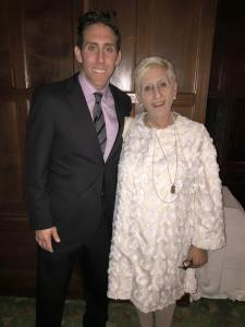 Greg with his mother, Francine